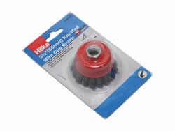 51960025 65 mm M14 Knotted Cup Brush