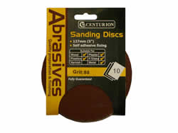 Assorted Circular Sanding Discs Packet of 10