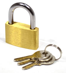30 mm Brass Padlock
