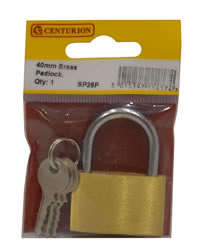 40 mm Brass Padlocks