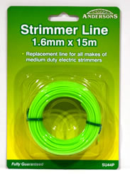 1.6 mm x 15 metres Spool Strimmer Line