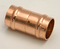 15 mm Solder Ring Copper Straight Coupling