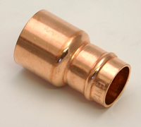 22 x 15 mm Solder Ring Copper Reducing Coupling