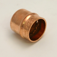 15 mm Solder Ring Copper Stop End