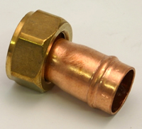 15 mm x 1 / 2 inch Solder Ring Copper Tap Connector