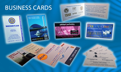 business card printers UK