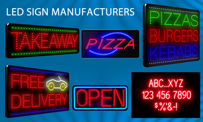 led sign makers