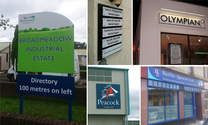 sign makers Glasgow