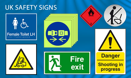 uk safety sign images