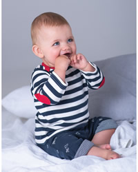 Babybugz Stripy Long Sleeve T-shirt