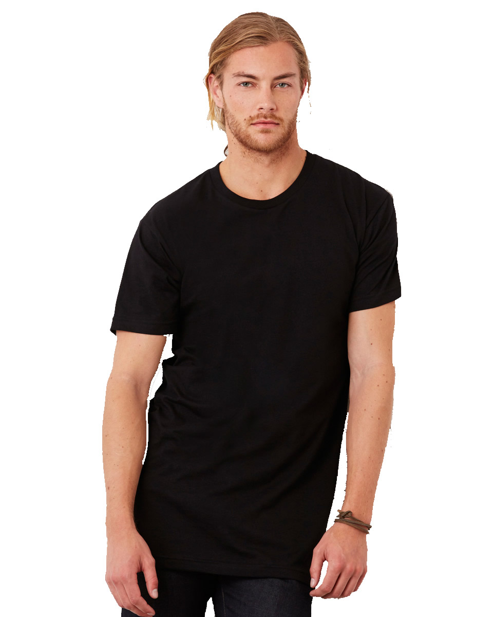 Canvas Mens Long Body Urban T-shirt