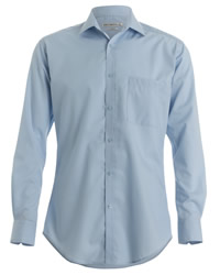 Kustom Kit Mens Long Sleeve Slim Fit Shirt