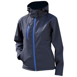 Result Core Ladies Lite Hooded Softshell Jacket