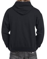 Gildan Mens Heavy Contrast Hooded Sweat Shirt