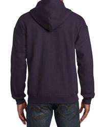 Gildan Mens Vintage Full Zip Hood Sweat
