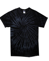TDUK Short Sleeve Spiral Tie Dye T-Shirt