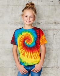 Tie-Dye Childrens Spiral T-shirt