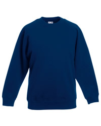 Fruit of the Loom Kids Classic Raglan Sleeve Sweat Shirt