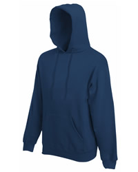 Fruit of the Loom Mens Classic Hooded Sweatshirt