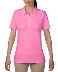 Anvil Ladies Double Pique Polo Shirt