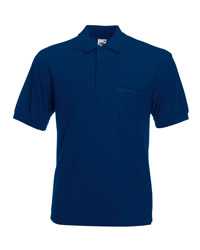 Fruit of the Loom 65/35 Pocket Pique Polo Shirt