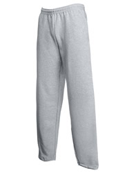 Fruit of the Loom Mens Classic Open Hem Jogging Sweat Pants