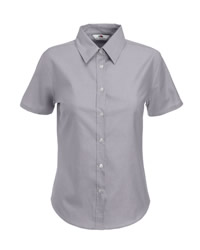 Fruit Of The Loom Lady Fit Short Sleeve Shirt