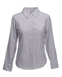 Fruit Of The Loom Lady Fit Long Sleeve Shirt
