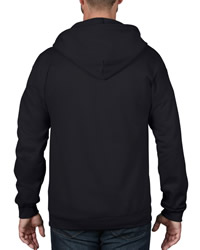 Anvil Adult Full Zip Hooded Sweat Shirt