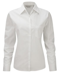 Russell Collection Ladies Long Sleeve Shirt
