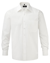 Russell Collection Long Sleeve Pure Cotton Shirt