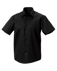 Russell Collection Short Sleeve Tailored Shirt