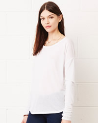 Bella Long Sleeve Flowy 2x1 T-shirt