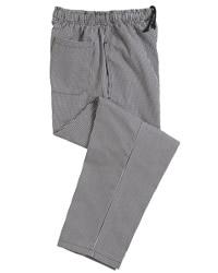 Dennys Blue/White Chefs Trouser