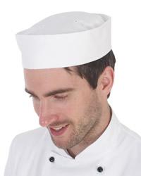 Dennys White Skull Cap