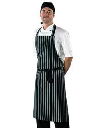 Dennys Cotton Striped Butchers Apron