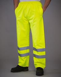 Yoko Hi-Vis Waterproof Contractor Trousers