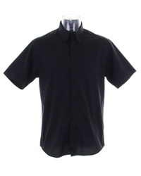 Kustom Kit Mens City Short Sleeve Shirt