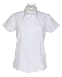 Kustom Kit Ladies Workforce Short Sleeve Shirt