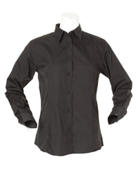 Kustom Kit Ladies Long Sleeve Workforce Shirt