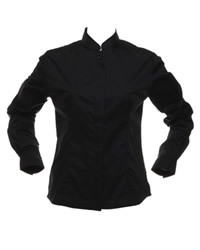 Bargear Ladies Long Sleeve Mandarin Coller Bar Shirt