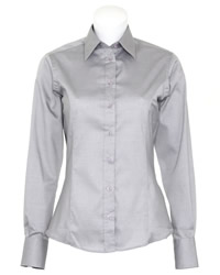 Kustom Kit Ladies Contrast Premium Shirt