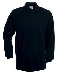 B&C Heavymill Longsleeve Poloshirt