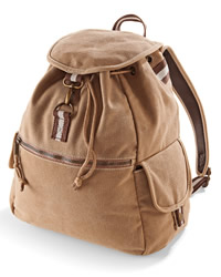 Quadra Desert Canvas Backpack