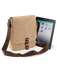 Quadra Vintage Canvas Ipad/tab Reporter