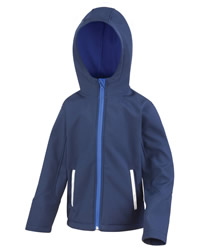 Result Core Junior Hooded Softshell Jacket