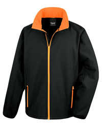 Result Core Mens Printable Soft Shell Jacket