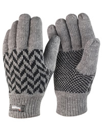 Result Winter Pattern Thinsulate Gloves
