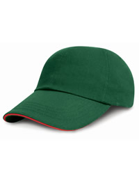 Result L/P Sandwich Peak Brushed Cap