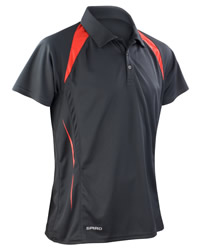 Spiro Mens Team Spirit Polo Shirt